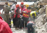 Žena pronađena živa ispod ruševina u Nairobiju šest dana nakon urušavanja zgrade