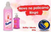 Od sada na policama Binga novi omekšivač i tečni sapun