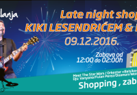 LATE NIGHT SHOPPING SA KIKI LESENDRIĆEM I PILOTIMA U TUZLANCI