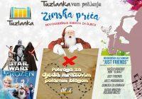 Novogodišnja zabava za djecu u RK Tuzlanka – ZIMSKA PRIČA  30.12.2016.