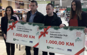 Bingo uručio donacije Prihvatnom centru Duje i JU Dom za starija lica
