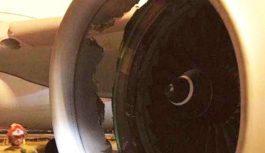 JEZIVO! Avion sletio s rupom u kućištu motora