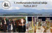 """Otvoren 1. Međunarodni festival """"Rakija i so"""" u Tuzli: Želimo podići nivo kvaliteta proizvodnje rakije. Pobjednici su rakija """"Monogram"""" iz Modriče i """"Trivunova loza"""" iz Leskovca"""