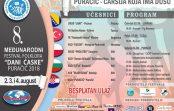 """""""Dani ćaske – PURAČIĆ 2018"""" – 8. Međunarodni festival folklora"""
