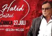 Halid Bešlić spreman za spektakl u Gračanici!