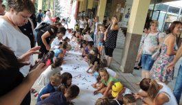OGUS 2018: Djeca crtala i pjevala svome gradu Srebreniku