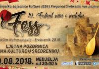 Dašak tradicije u Srebreniku: Sve spremno za FESS – 10. festival saza i sevdaha